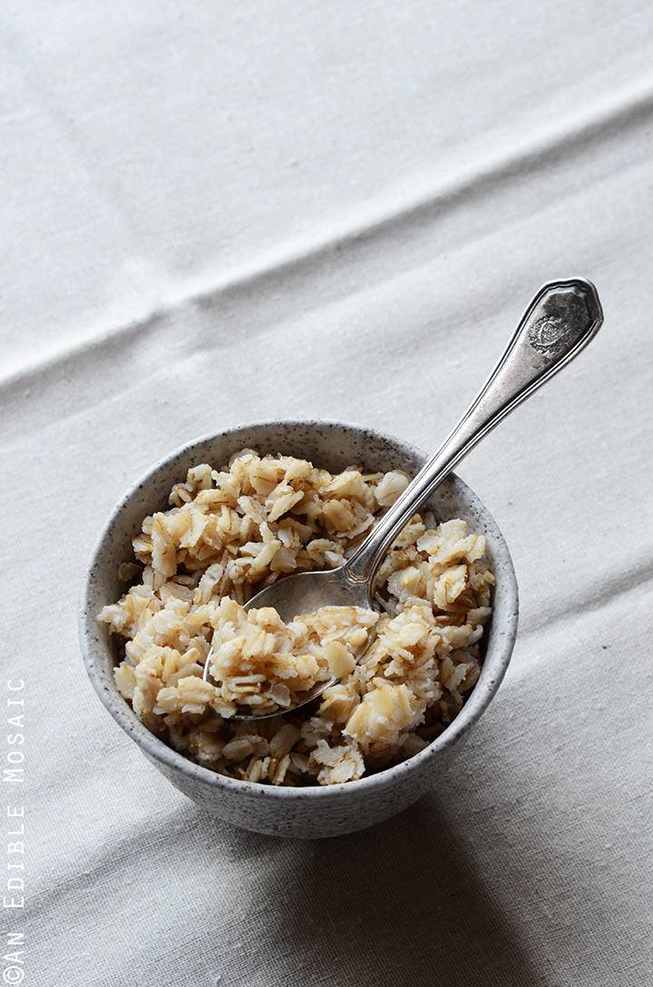 Cooked Oats