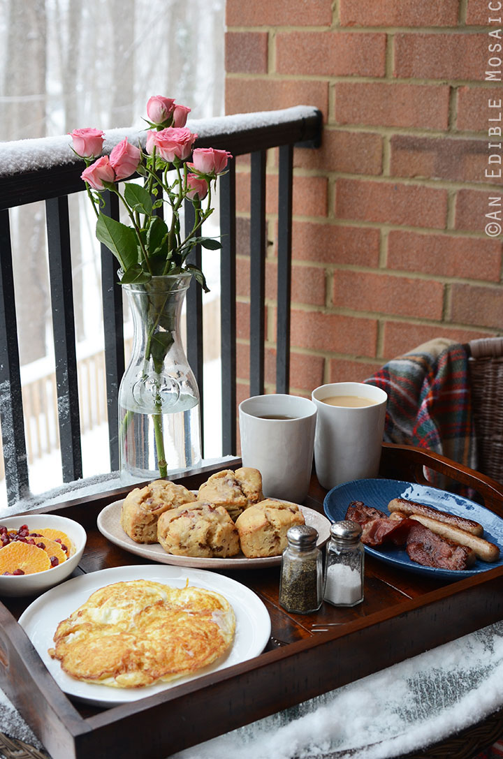 Our Snowy Brunch