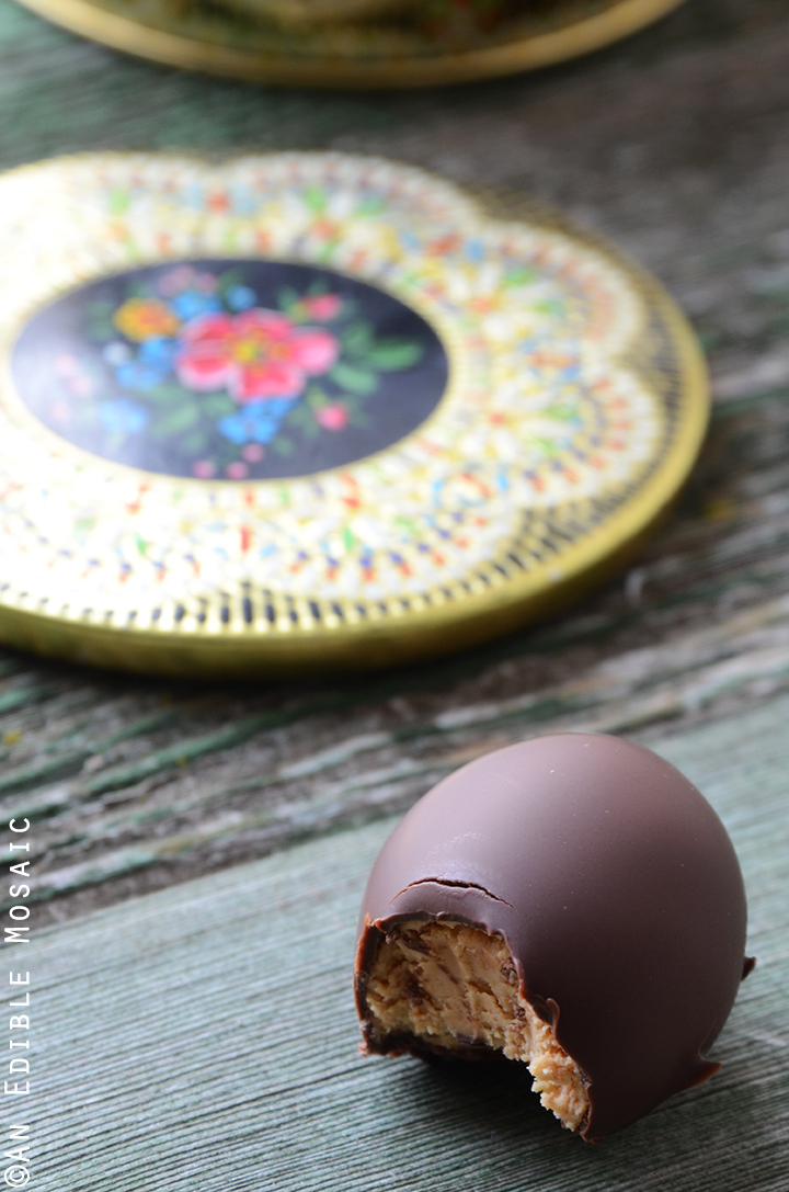 3-Ingredient Chocolate-Covered Peanut Butter Eggs