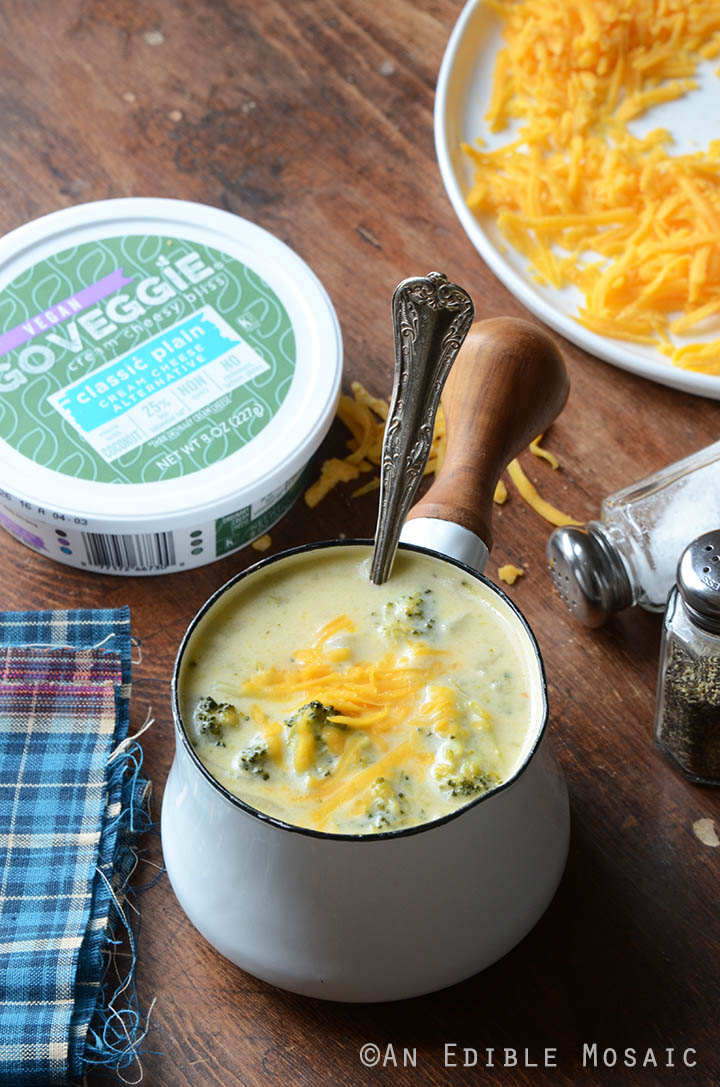 Broccoli Cheddar Soup {Gluten-Free; Lactose-Free} 3