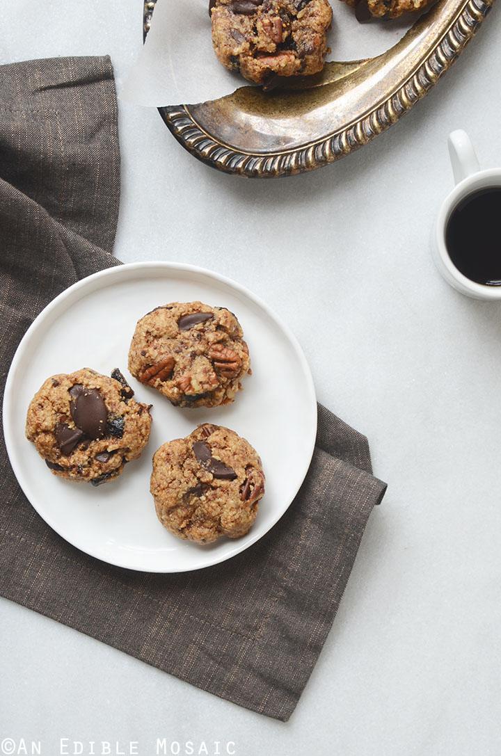 Healthy Fig and Pecan Breakfast Cookies {Gluten-Free} 1