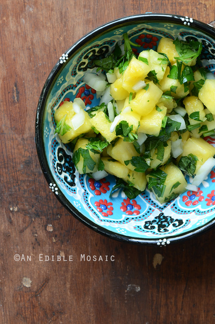 Pineapple-Mint Relish