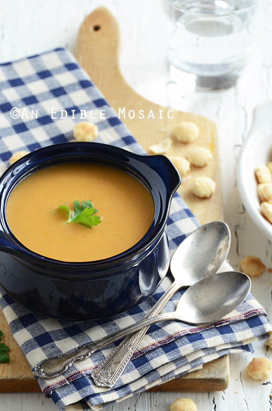 Smoky Cheese Bisque