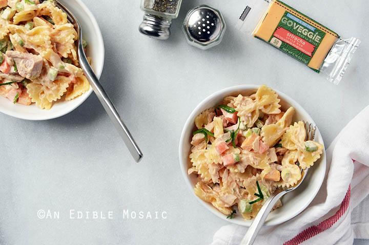 Buffalo Chicken Pasta Salad 3