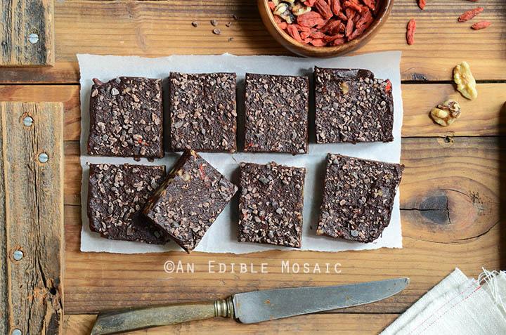 No-Bake Superfood Chocolate Fudge 5