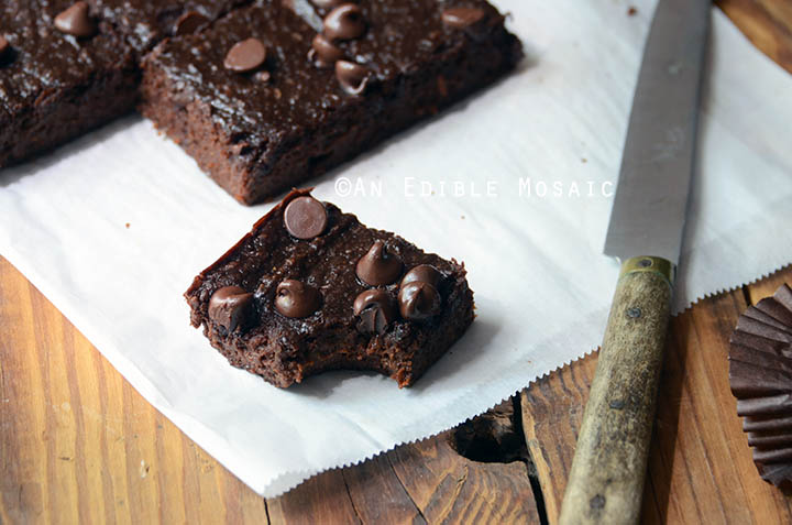 Secretly Healthy Fudgy Chocolate Sweet Potato Brownies {Paleo} 4