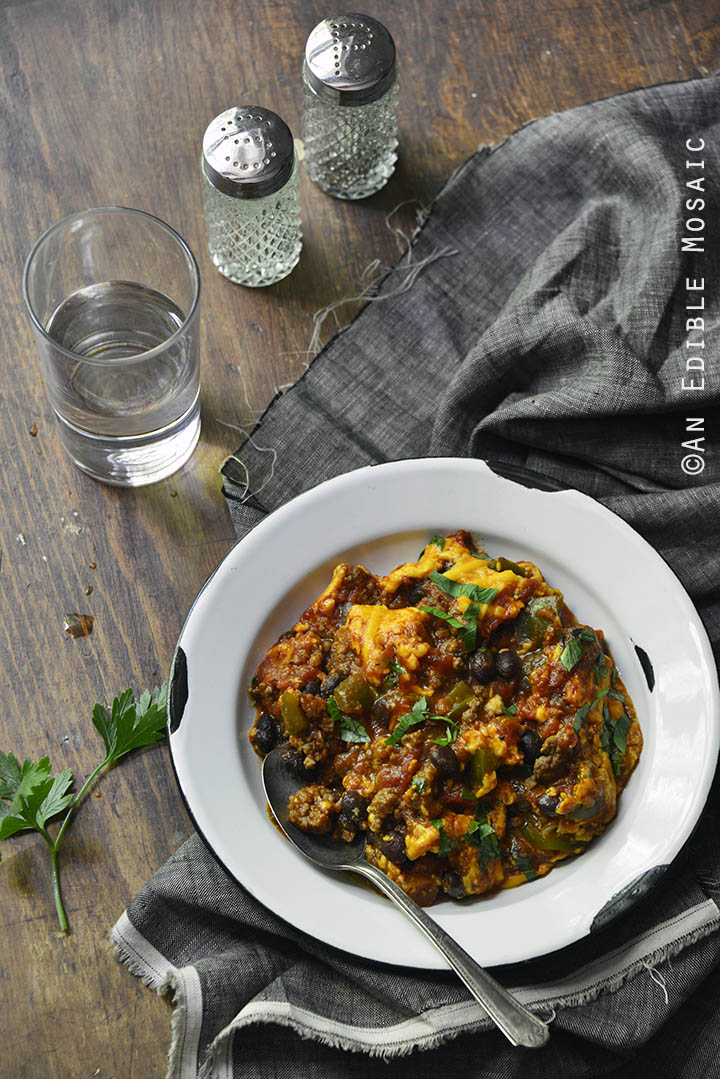 Weeknight Cheesy Beef Skillet Chili 1