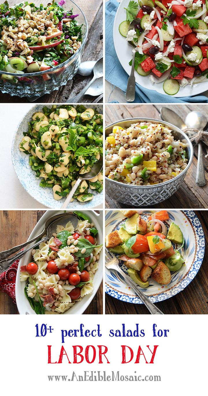 10+ Perfect Salads for Labor Day