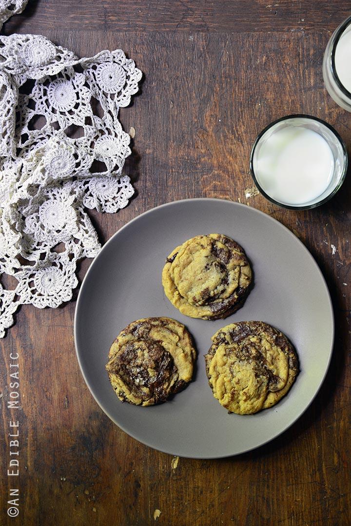 Peanut Butter Nutella Swirl Cookies 3