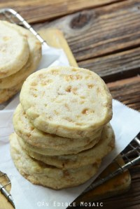 Slice and Bake Butter Toffee Shortbread Cookies