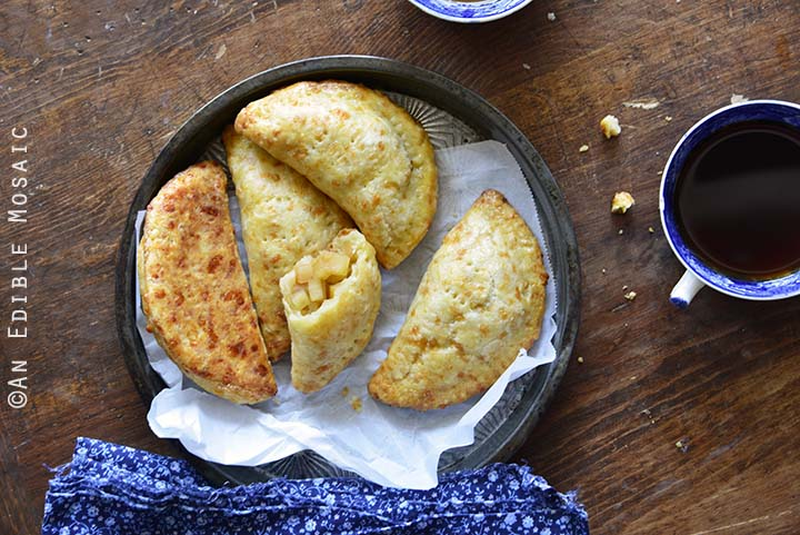 Sweet Apple Hand Pies with Cheddar Shortcrust Horizontal Orientation