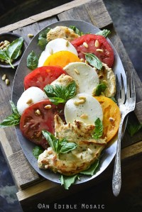 Lemon and Thyme Chicken Caprese