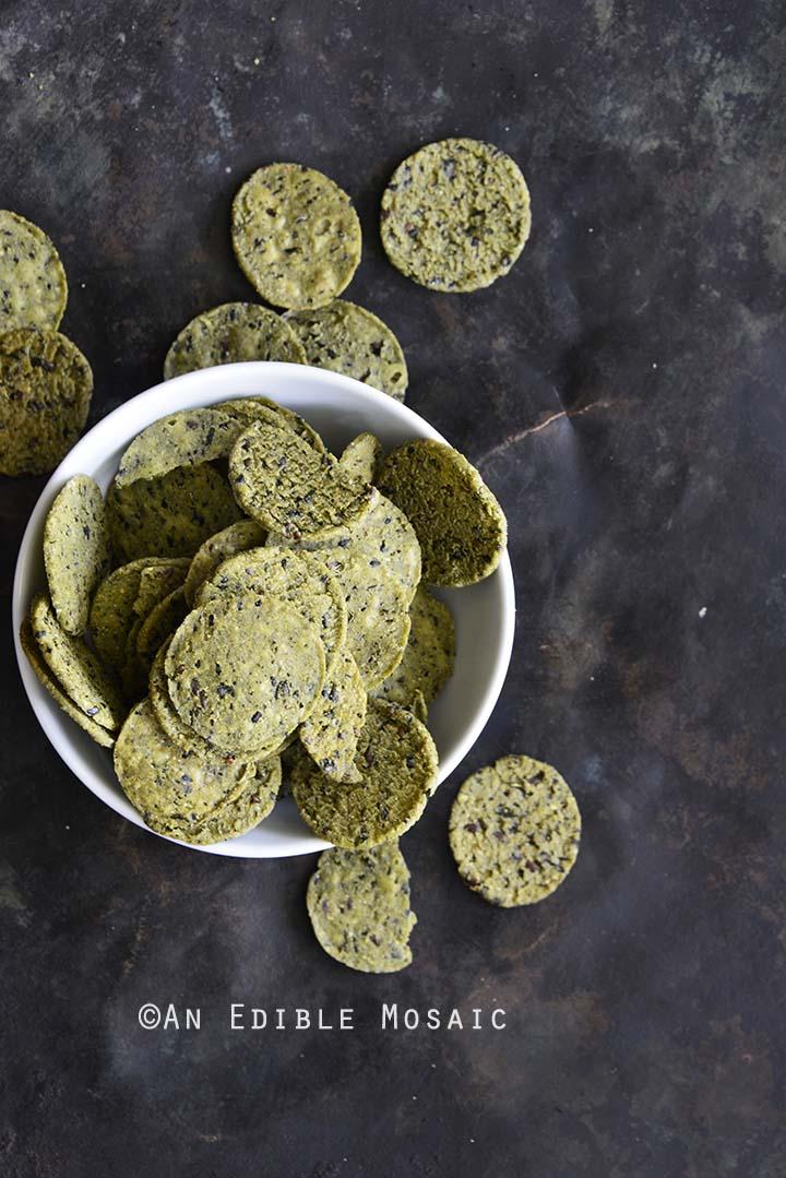 RW Garcia 3 Seed Kale Crackers in Bowl