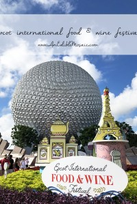 Epcot Food and Wine Festival at Disney World