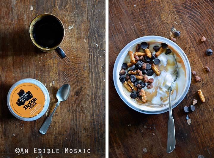 Carmel Chocolate Pecan Noosa Yoghurt