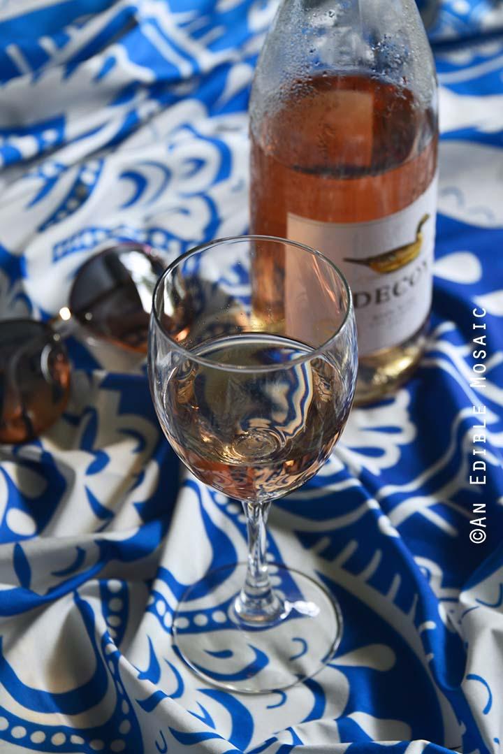 2017 Decoy California Rosé on Beach Blanket
