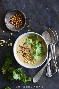 Panang Curry Red Lentil Soup