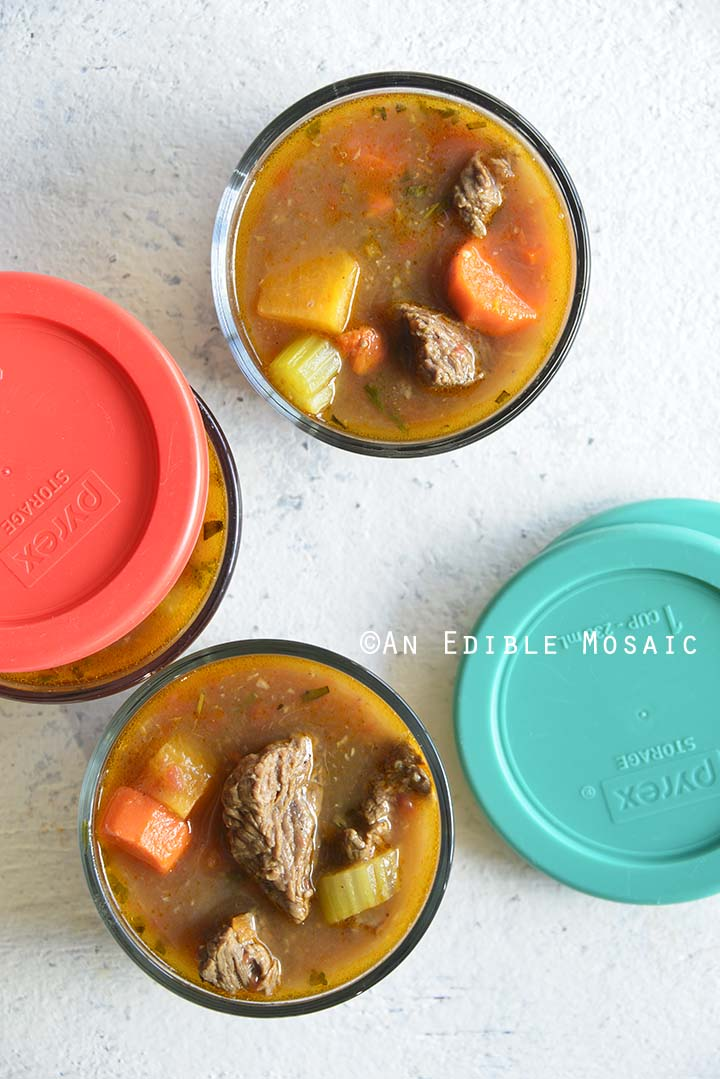 Beef Soup Meal Prep