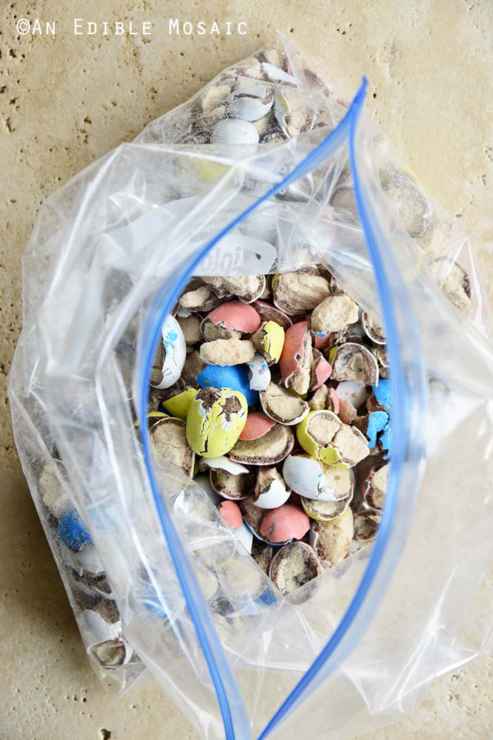 Crushed Robin Eggs Candy