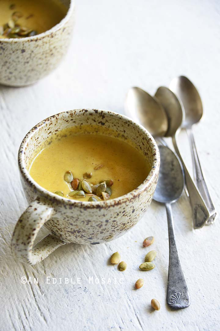 Easy Pumpkin Soup Recipe for One with Pumpkin Spice