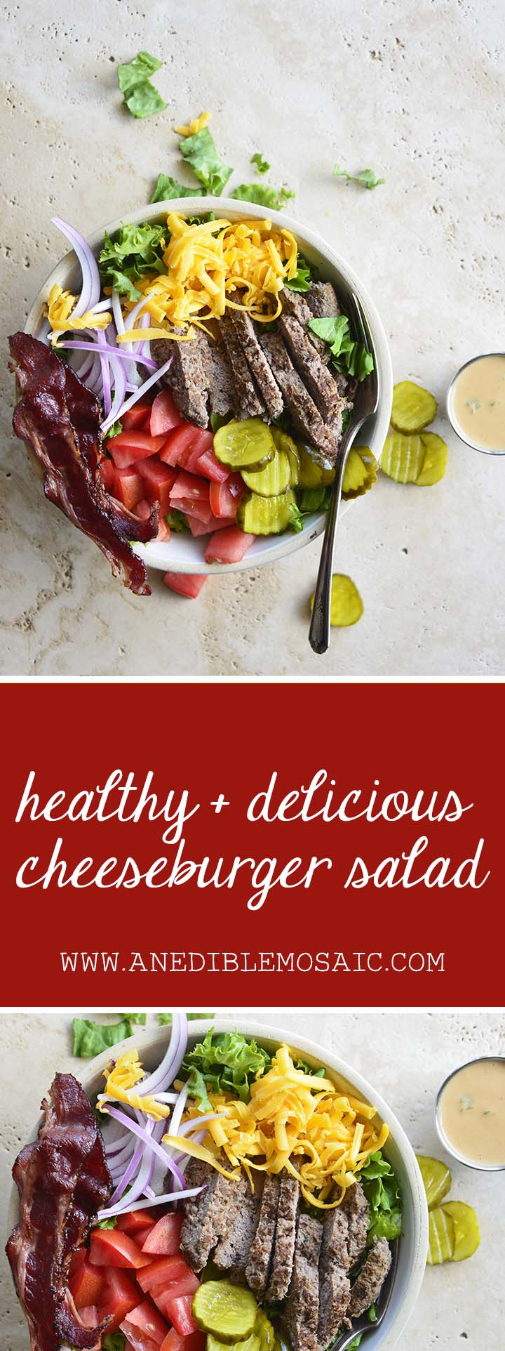 Cheeseburger Salad Pin