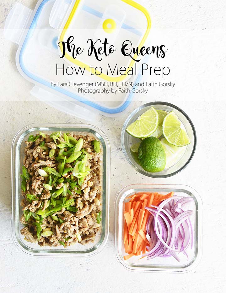 How to Meal Prep Ebook Cover