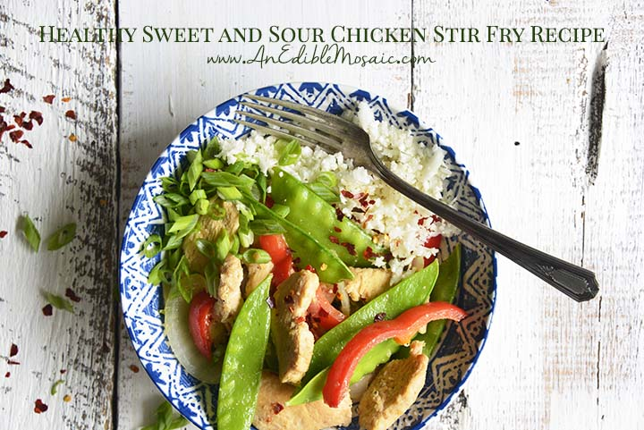 Healthy Sweet and Sour Chicken Stir Fry Recipe with Description