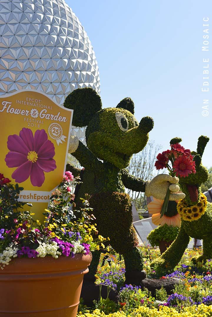 Epcot International Flower And Garden Festival 2018 At Walt Disney World An Edible Mosaic