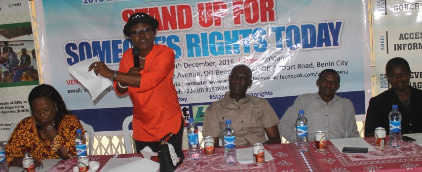 ANEEJ SAYS ULTIMATUM TO IGBOS POTENTIALLY VIOLATES HUMAN RIGHTS, CALLS FOR DIALOGUE.