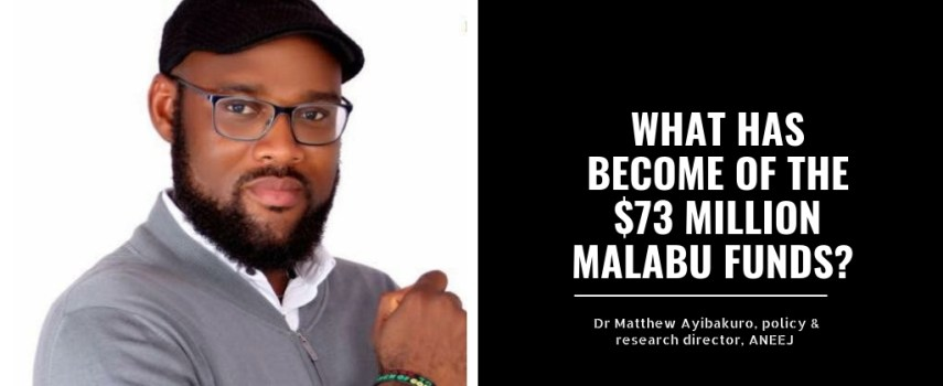 WHAT HAS BECOME OF THE $73 MILLION MALABU FUNDS?