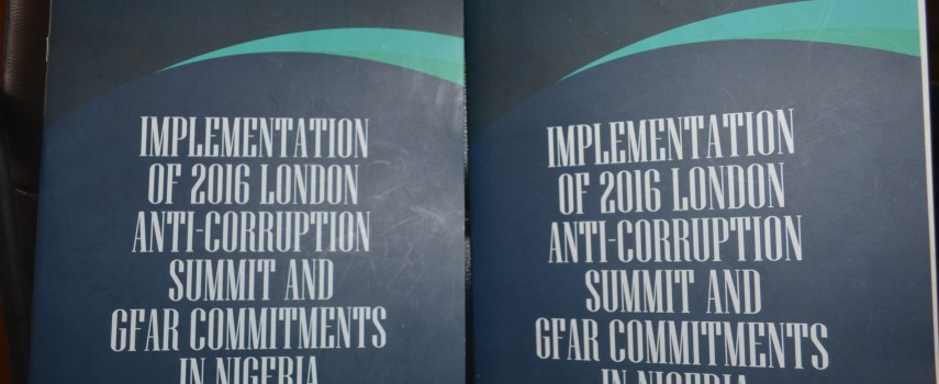 Assessing Nigeria's Implementation of its Commitments from the London Anticorruption Summit and Global Forum on Asset Recovery – What We Know So Far.