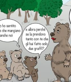 """Dopotutto siamo """"orsi"""" pure noi Trentini"""