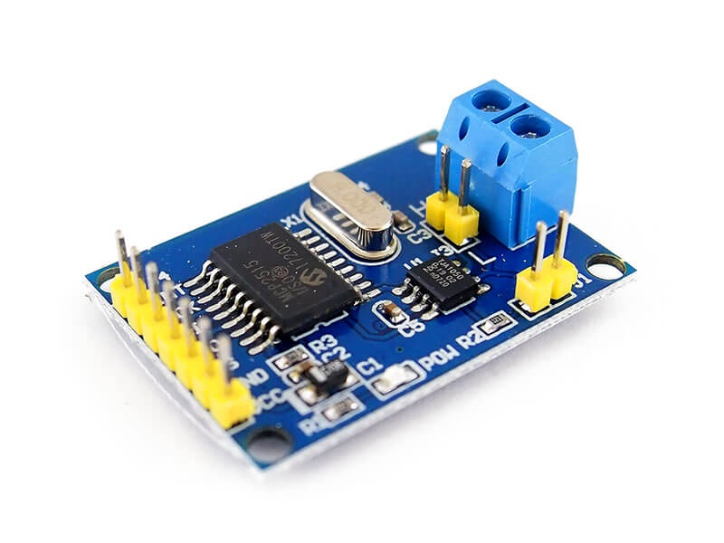 Gulakey MCP2515 CAN Bus Module Board TJA1050 Receiver SPI for Arduino 51 MCU ARM Controller Spot Steuermodul