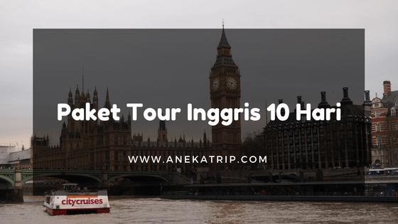 Paket tour Inggris