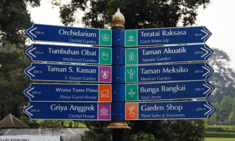Obyek wisata di Kebun Raya Bogor