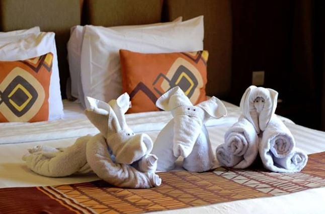 Salah satu kamar di Baobab Resort