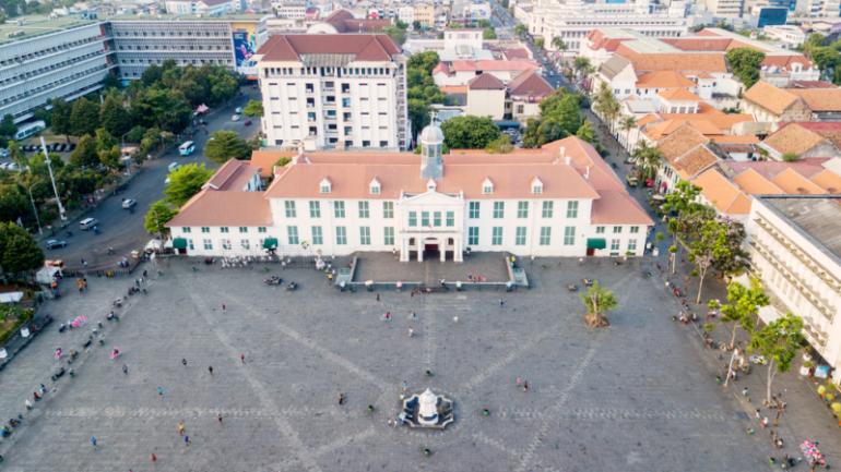 Museum Fatahillah Aerial View