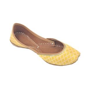 Yellow Traditional Jutti