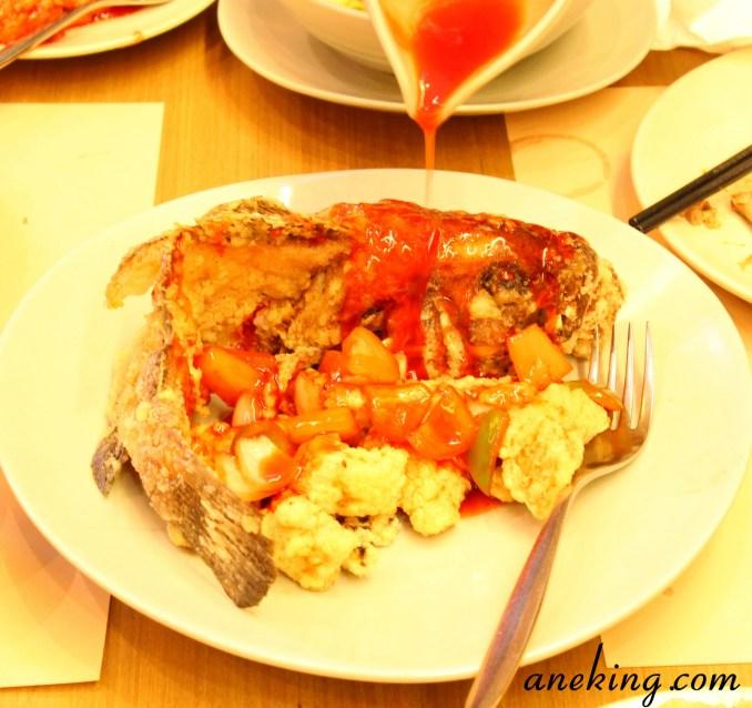 Deep Fried Garoupa