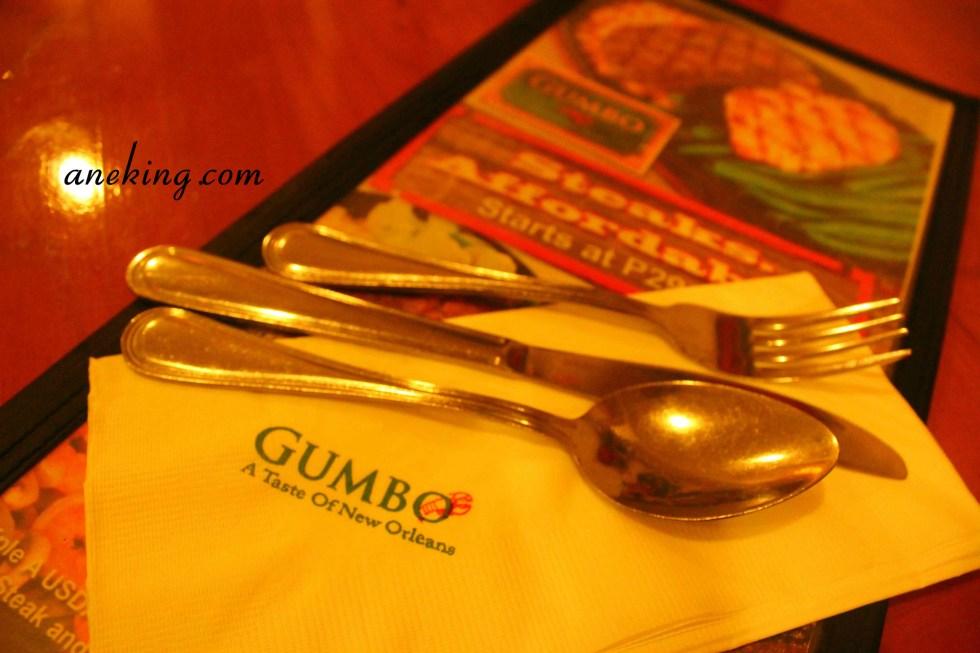 Gumbo Menu
