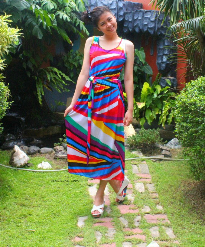 5 maxi dress