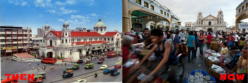 Quiapo then and now