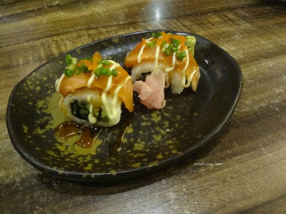 Salmon Irodori Sushi