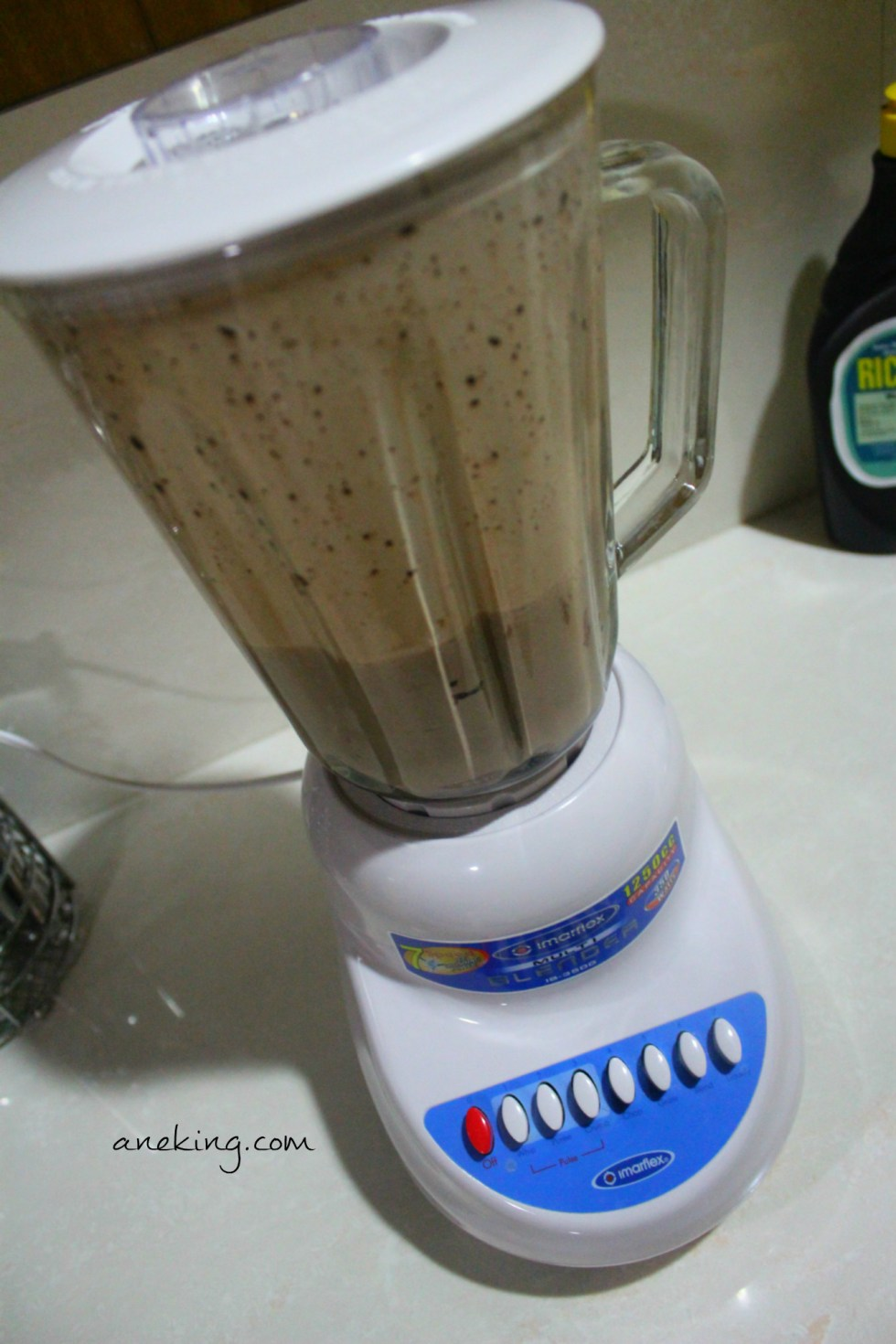 6. Blend the mixture until you reach your desired smoothness.