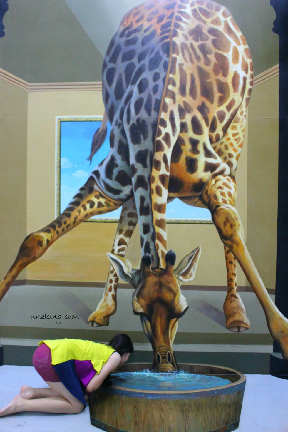 Giraffe in Art in Island