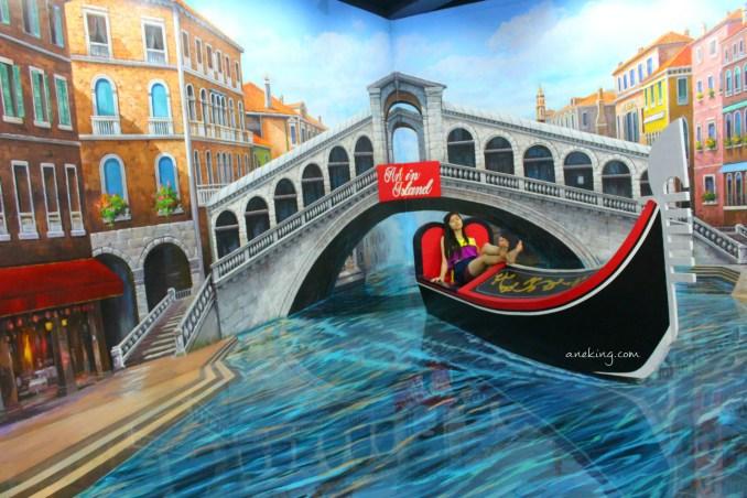 boat in art in island