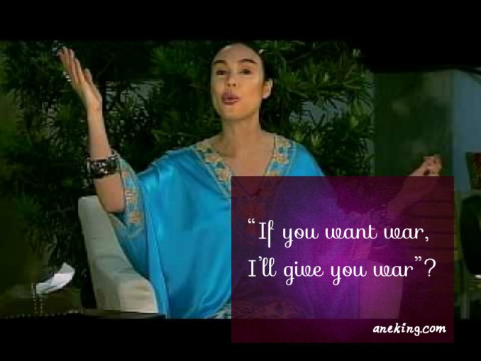 gretchen barretto if you want war, i'll give you war