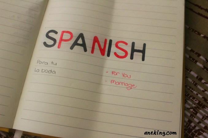 spanish minion language