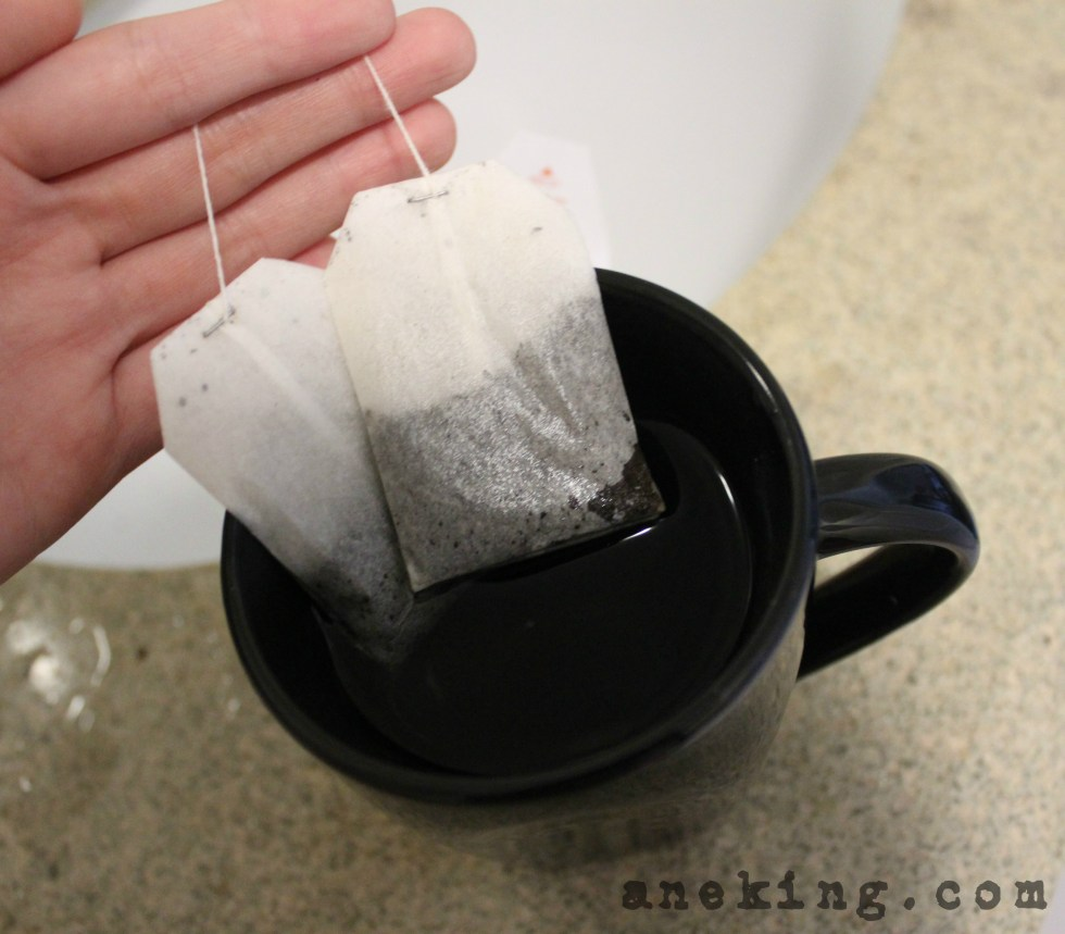 tea bags as puffy eye remedy
