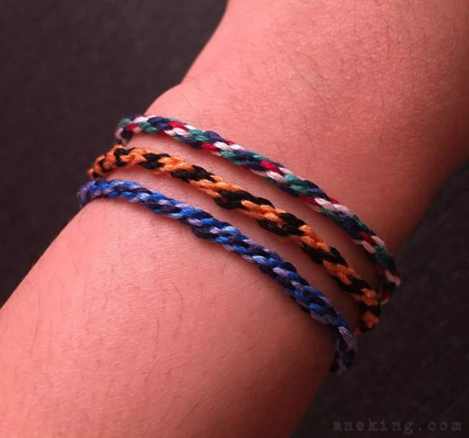 rope thread bracelet